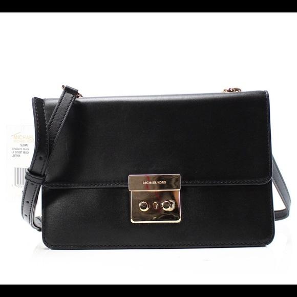 4660a66ae9f2 MICHAEL Michael Kors Bags | Nwt Michael Kors Black Crossbody Xbody ...